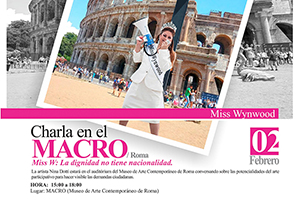 El Museo MACRO de Roma recibe a la venezolana Nina Dotti